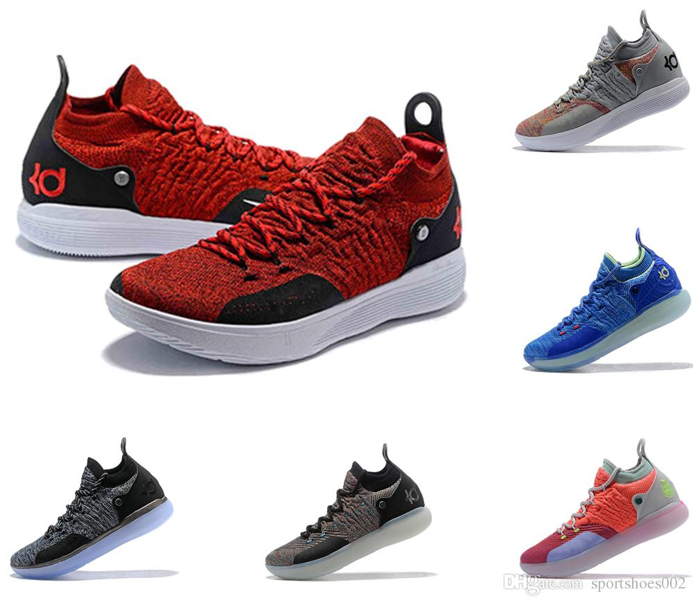 HOT Designer Shoes KD 11 Basketball Shoes Kevin Durant 11s Zoom Mens  Running Athletic Off Shoes White Luxury KD EP Elite Low Sport Sneakers  Casual Shoes For ... 645e56f67d8