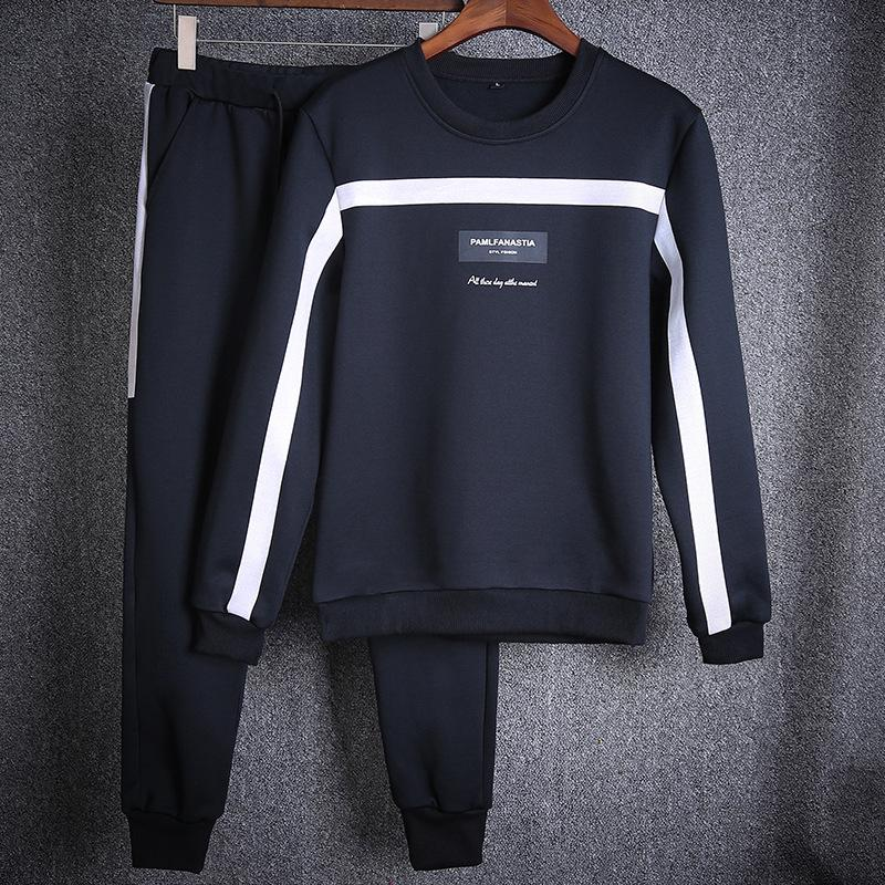 Devoted 2019 Spring European Hip-hop Leisure Neutral Style Striped Embroidery Letter Men Cotton Pants Casual Joggers Sweatpants Male Luggage & Bags