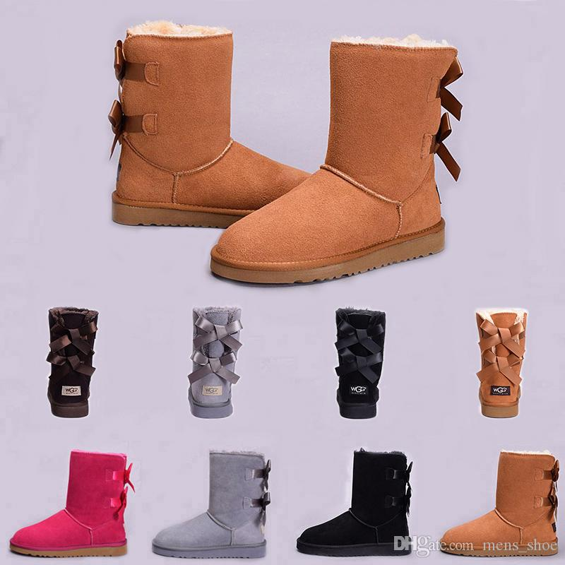 62428f6b26e Top fashion Australia Classic WGG Women Winter Boots Chestnut Black ...