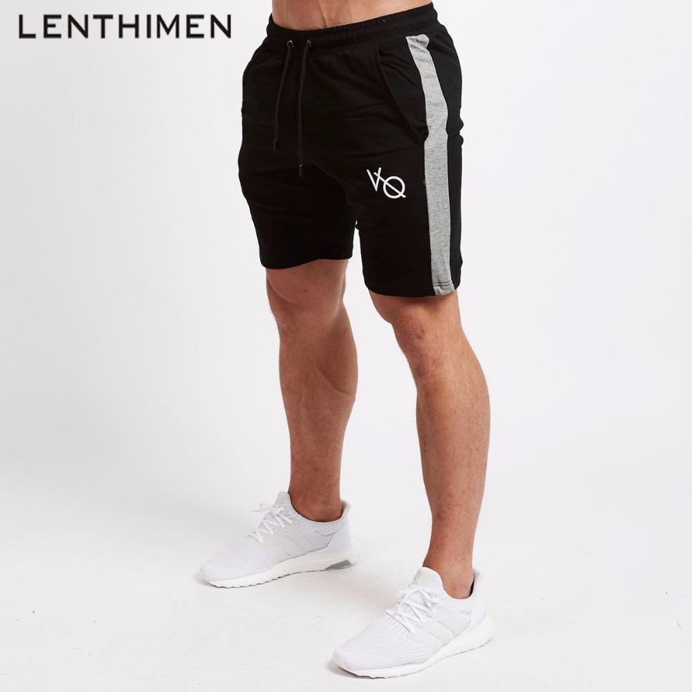 1e03303353 Pantaloncini da palestra da uomo di marca Pantaloncini da corsa sportivi da  uomo Quick Dry Soccer Basket Traning Pantaloni corti Fitness Legging ...