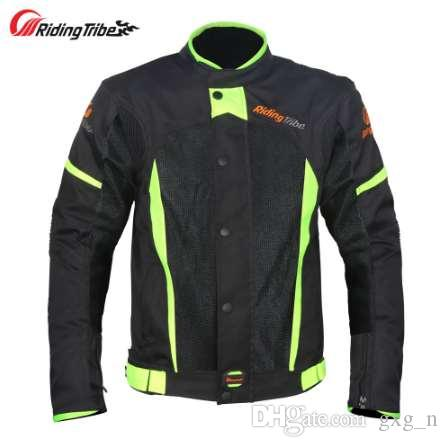 Riding Tribe Motorcycle Jacket Summer Breathable Motocross Off-Road Racing Coat Moto Biker Clothing Protective Gear Armor JK-37