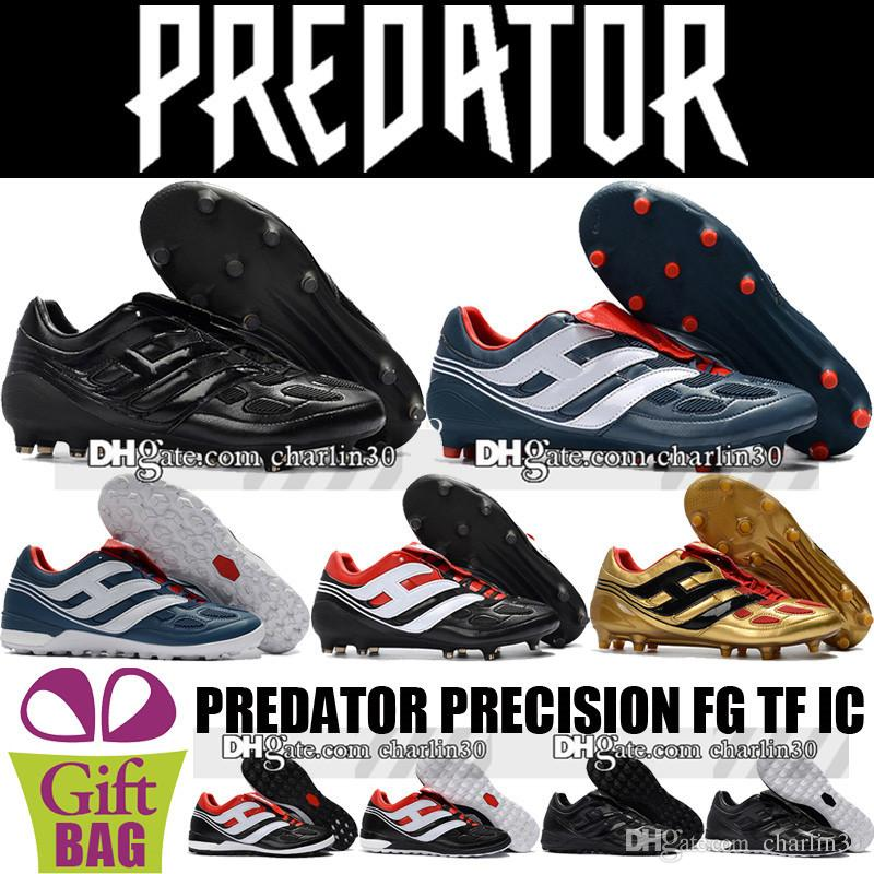 7b92fede3 Cheap Top Quality Predator Mania Champagne FG Soccer Shoes New Predator  Precision FG Football Boots Predator Indoor IC TF Soccer Cleats Turf Cheap  Shoes For ...
