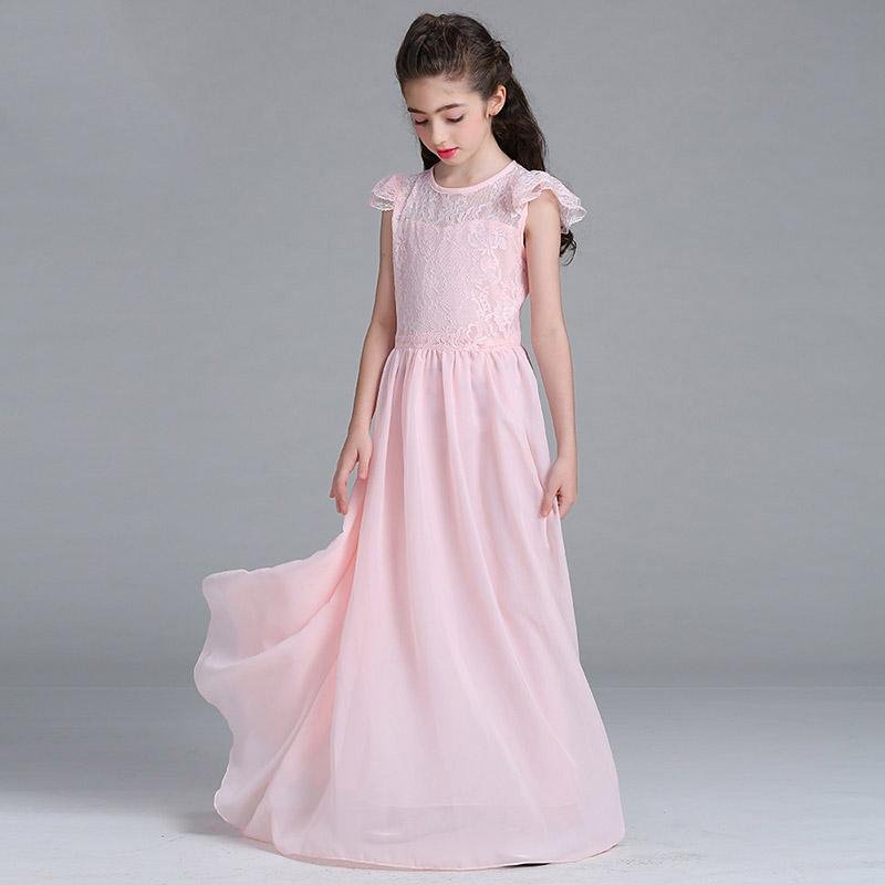 Girl Pageant Dress Lace Evening Dress Teenage Girl Formal Dresses