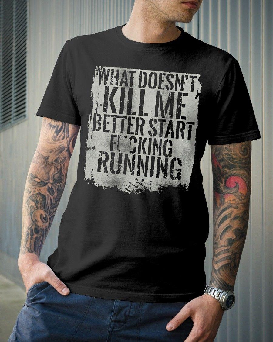838e4f93 Details Zu START RUNNING Grunt Style T Shirt Funny Unisex Casual Gift The  Following T Shirts This T Shirt From Lukehappy14, $12.96| DHgate.Com