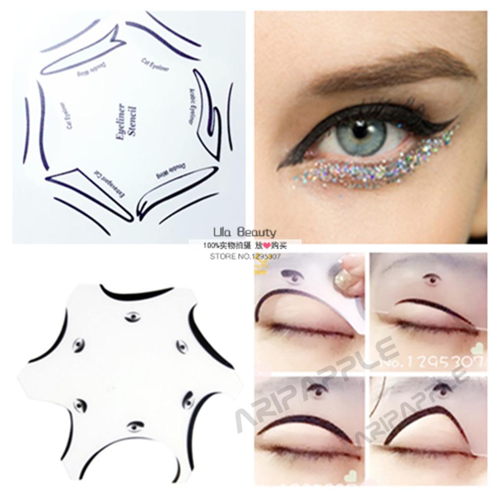 2packs Multifunction Eye Stencil 6 In 1 Eyeshadow And Eyeliner ...