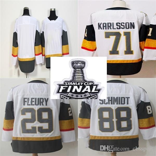 9f4c7dcb6d4 2018 Stanley Cup Final Vegas Golden Knights 29 Marc-Andre Fleury 71 ...