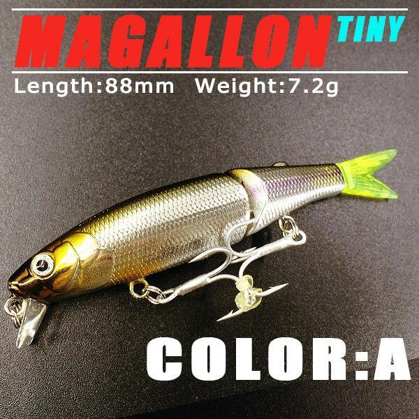 Perfect 5pcs /Lot 2017good Fishing Lures Minnow Quality Professional Baits 8 .8cm /7 .2g ,Swimbait Jointed Bait Bearking