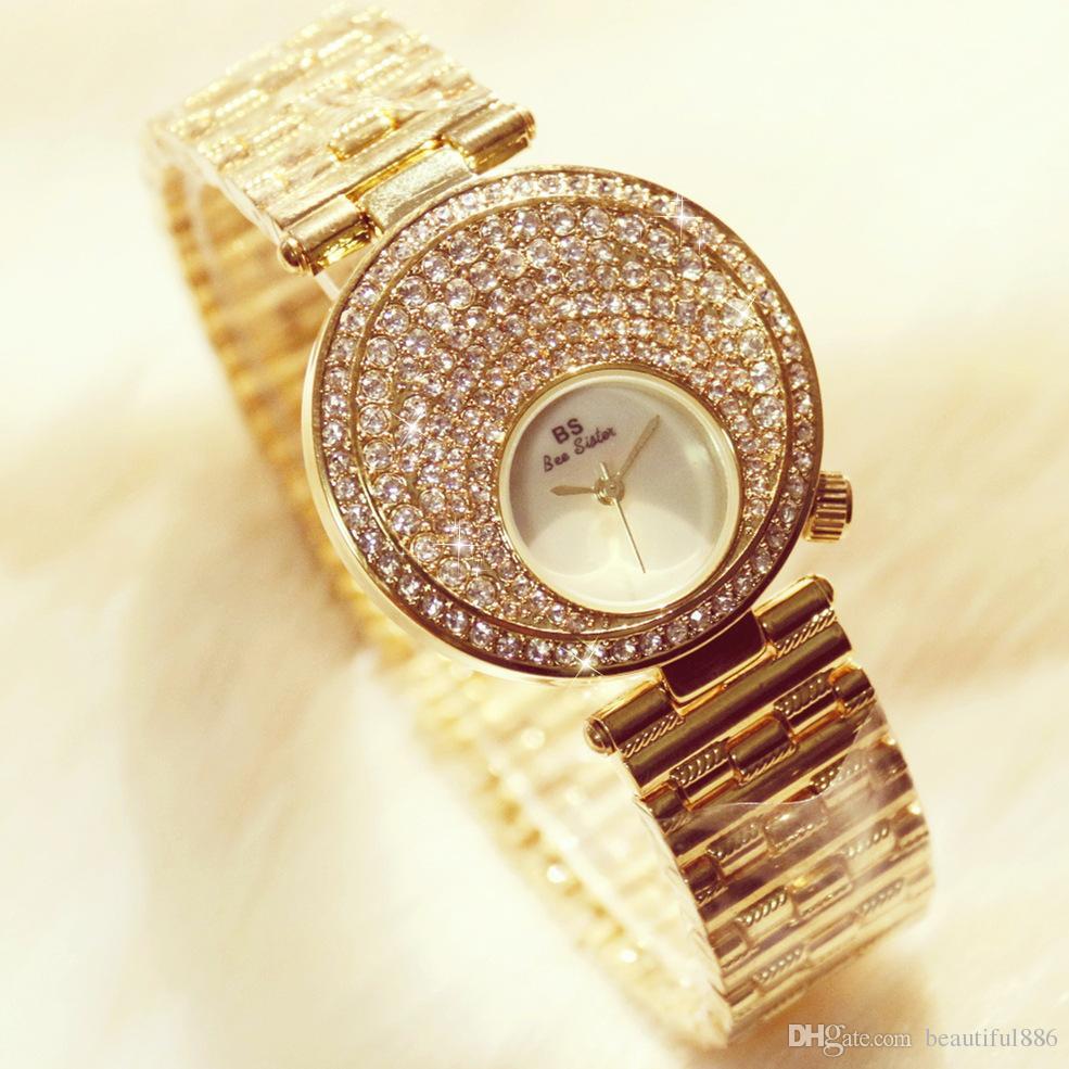 e4a7981f682 Women Fashion Watches Diamond Luxury Famous Brand Elegant Dress ...