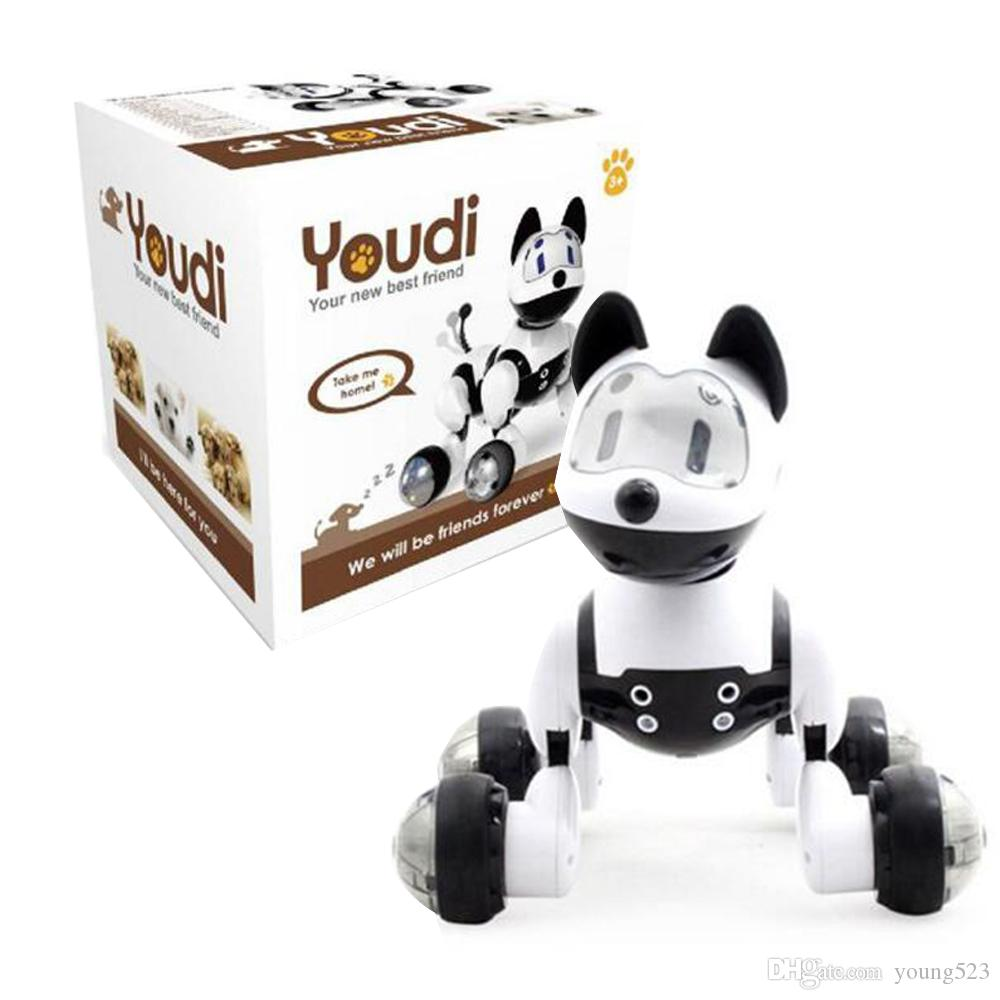Robot Cat Toy >> Youdi Voice Control Dog Cat Smart Robot Electronic Dog Cat Voice