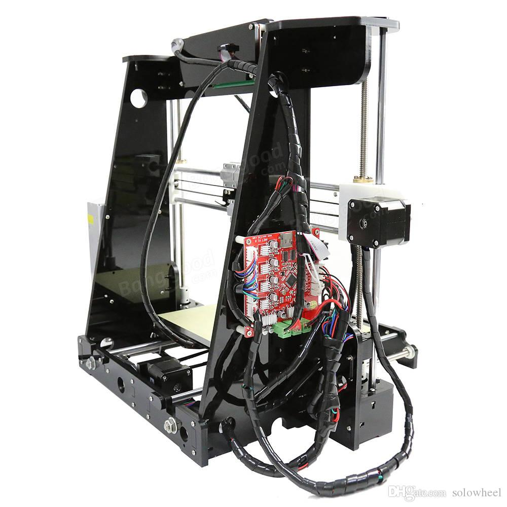 Hot selling Desktop 3D Printer Reprap Prusa i3 DIY 3D Printer with ABS Filament Support ABS / PLA / HIPS