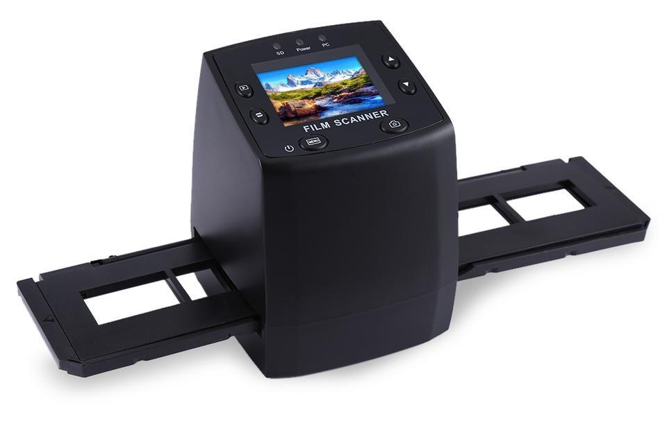 EastVita 5MP 35mm Negative Film Slide Viewer Scanner USB Digital Color  Photo Copier Professional Film Camera r20