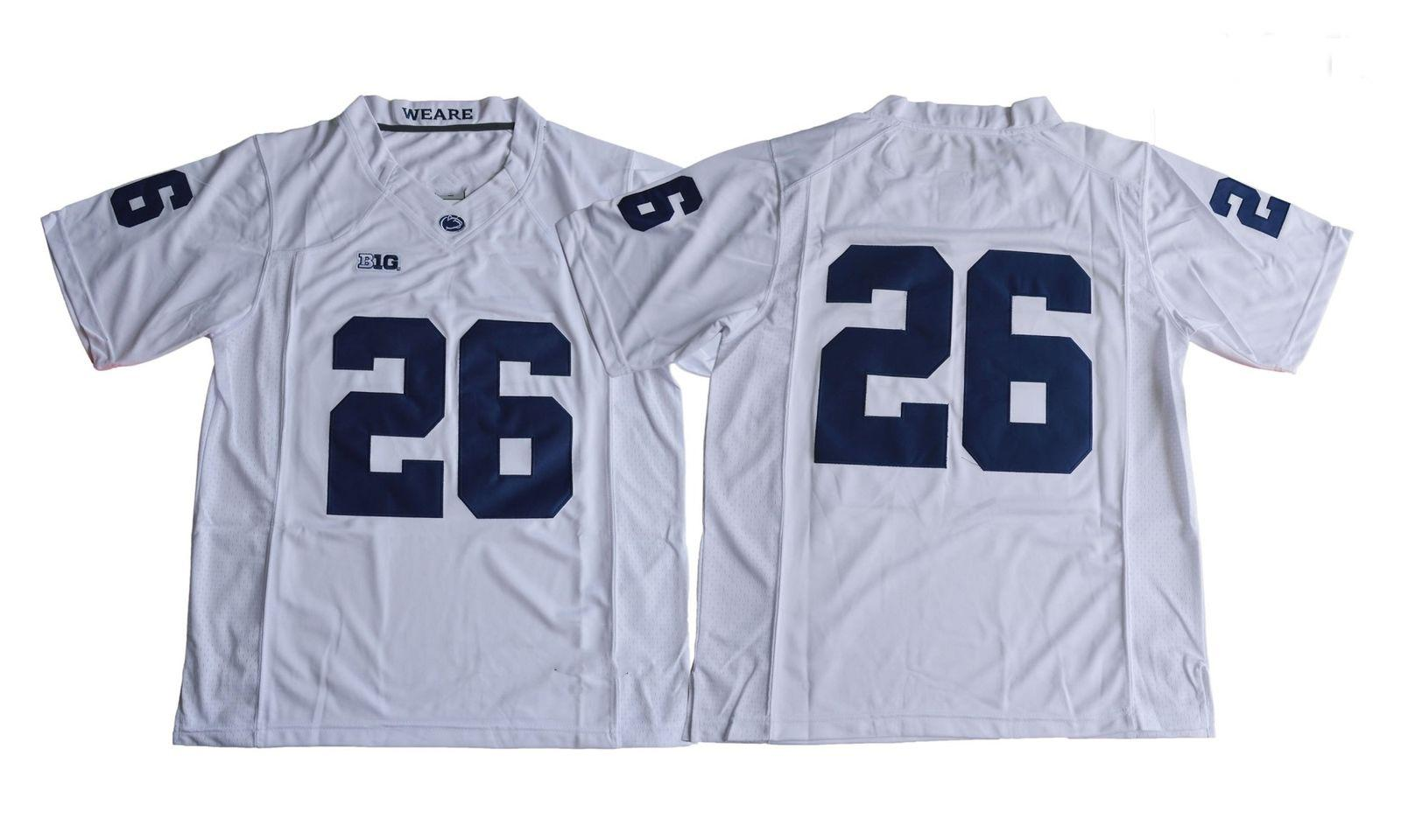 2665ee206 2019 Cheap Custom Penn State Nittany Lions Saquon Barkley 26 Football Jersey  White Stitched Customize Any Number Name MEN WOMEN YOUTH XS 5XL From ...