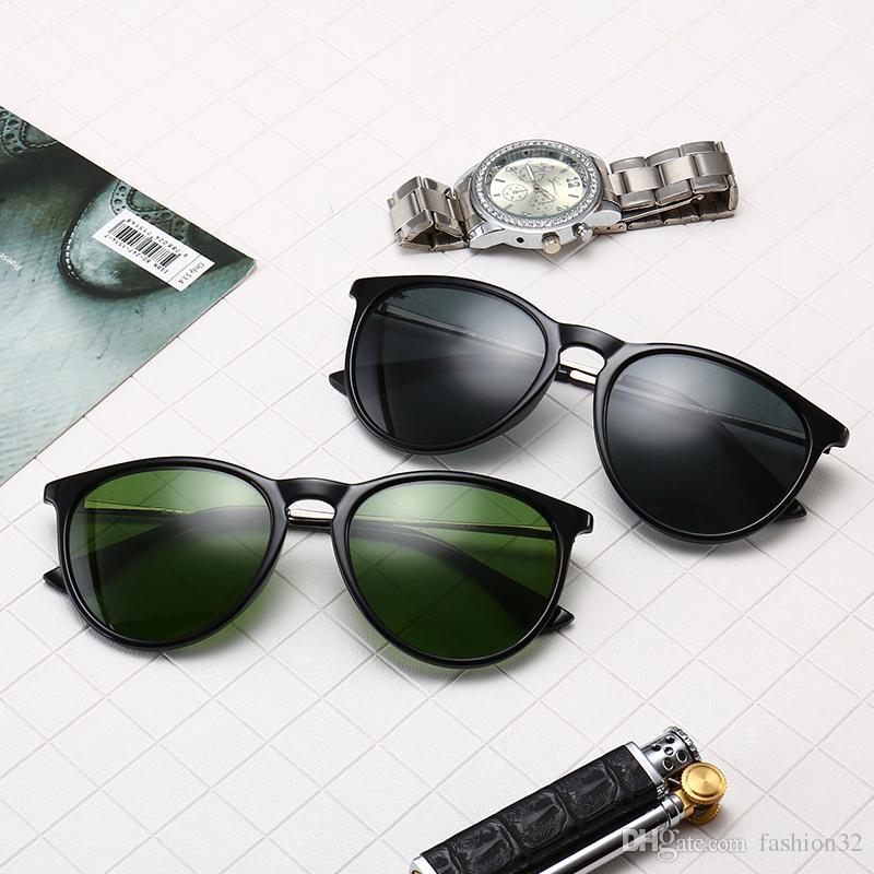 e8e5115b0e Compre Nuevas Gafas De Sol De Lujo Para Hombres Y Mujeres Gafas De  Diseñador De Marca Lentes Polarizadas Gafas De Protección UV400 Protege Con  Estuche Y ...