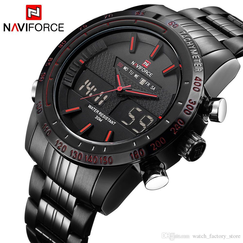 f7726cd7048e Compre Relojes Para Hombre De Lujo Militar Impermeable De Los Hombres De  Moda Reloj Deportivo LED Digital Reloj De Pulsera Masculino Relojes Para  Hombre ...