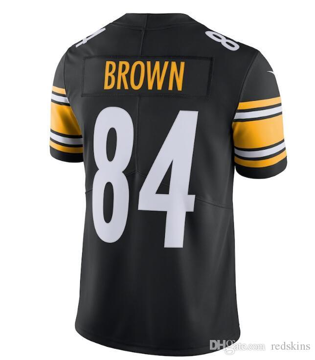 a293eb95c 84 Antonio Brown Jersey Alejandro Villanueva Pittsburgh Steelers ...