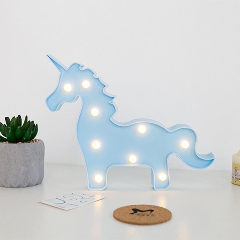 Flamingo LED Night Light Cloud/Moon/Star/Unicorn Pineapple Table Lamp For Christmas Wedding Decoration Party Supplies