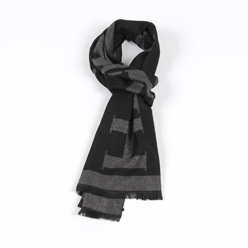 bc2e1f4bee European And American Autumn And Winter Men S Scarves Soft Moisture  Absorbing Antistatic Warm And Velour Scarves Tying Scarves Scarve From  Blackfridayes