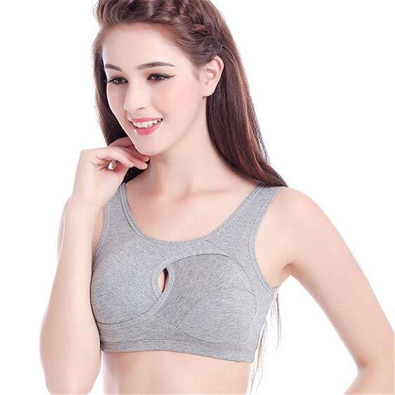 2016 Newest Push Up Bra Top For Women Sexy Bustier Crop Top Close-Fitting Workout Cotton Padded Ladies Vest ZMF78956341