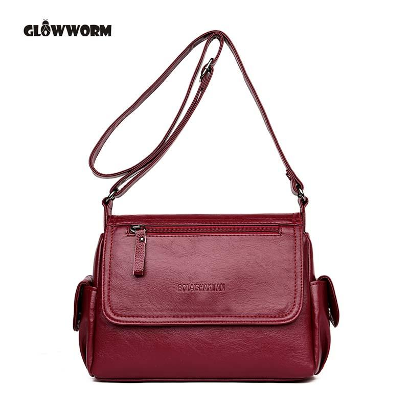 Designer Womens Bag Artificial Leather Handbags Knitting Black Ladies  Shoulder Bags Small Women 2018 Totes Messenger Bags Bolsa Women Bags  Leather Bags For ... 8d6252e529e67