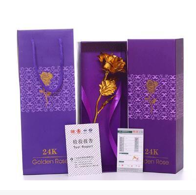 2019 MotherS Day Birthday Gift 24K Golden Rose Carnation Flower Best Present For ValentineS Girlfriend From Diyinpao 1006