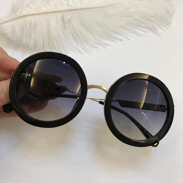 08781bcee4 Compre Lujo 4106 Gafas De Sol Para Mujer Diseñador De La Marca Moda Estilo  De Verano Ronda Completa Marco Superior Lente De Protección UV Viene Con  Paquete ...