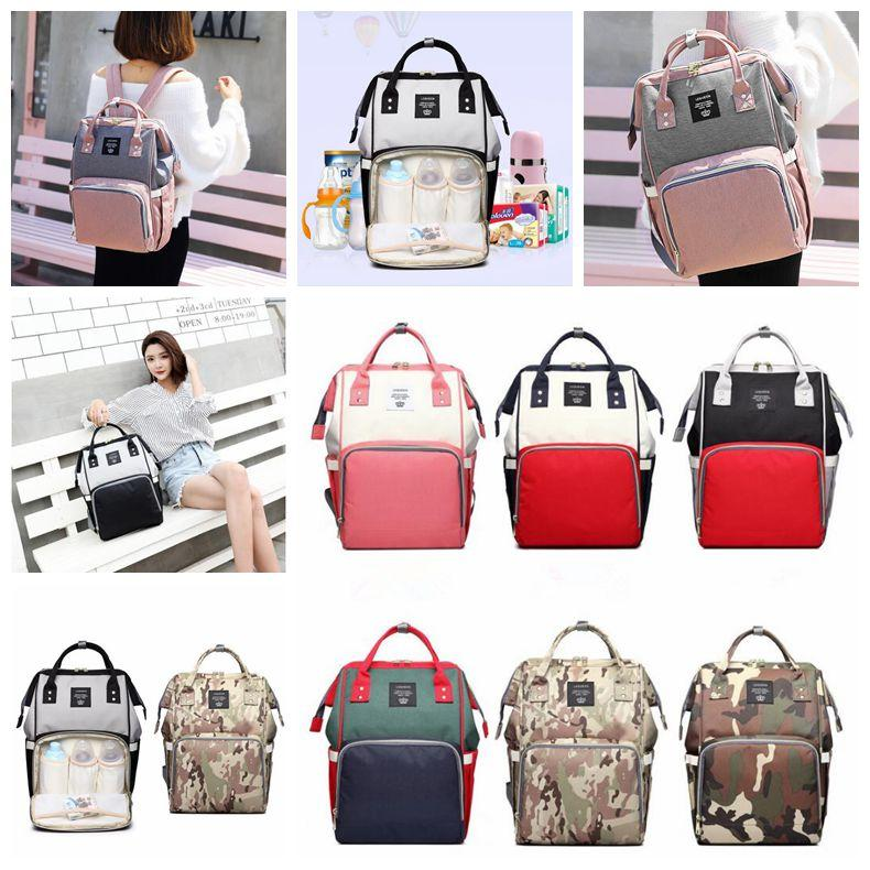 Diaper Bags Maternity Baby Nappies Backpacks Multi-function ... 29aefdb2ea9d3