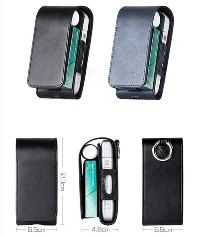 Free shipping Portable Sticker Mini Bag for IQOS 2 4 Plus Universal Case  Cover Protective Pouch