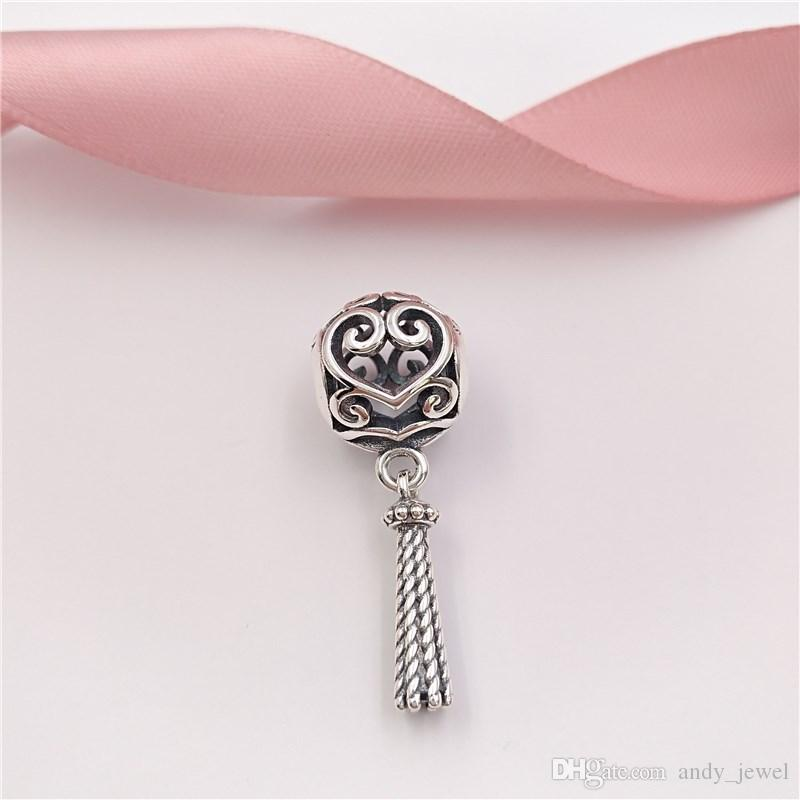 8df981caa 2019 Spring Collection 925 Sterling Silver Beads Enchanted Heart Tassel  Pendant Charm Fits European Pandora Style Jewelry Bracelets 797037 From  Andy_jewel, ...