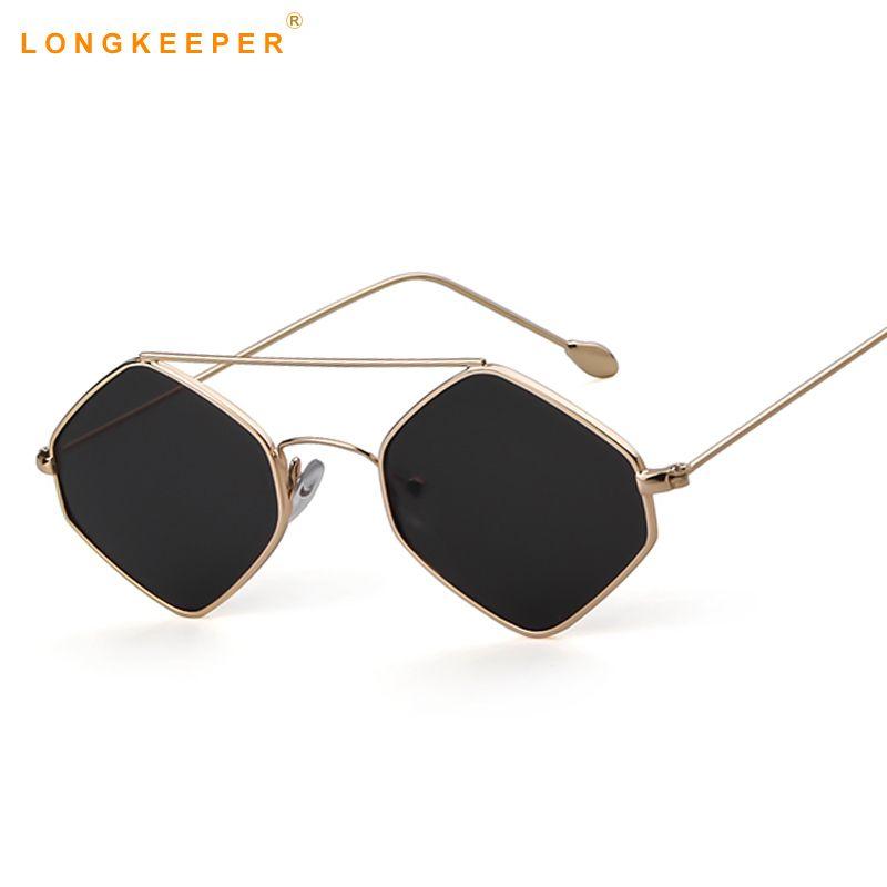 f086df6dc1422 Fashion Square Black Red Sunglasses Women Brand Designer Dames Small Frame  Polygon Sunglasses Women Vintage Sun Glasses Hexagon Foster Grant Sunglasses  ...