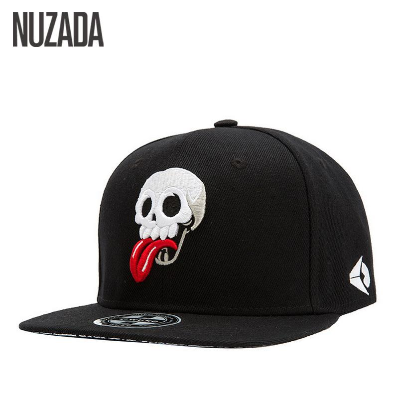 4028422d94 Skull Punk Fashion Embroidery Cotton Casual Casquette Brands Nuzada Men  Women Baseball Cap Caps Snapback Bone Hat Hats Hip Hop Jt -105 Cotton  Casual ...