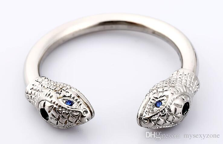 2018 new Private Design Glans Ring Snake head style Metal Male chastity device Male SNAKE Ring for male