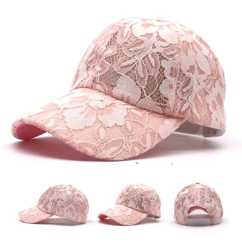 2017 Summer Lace Hats For Women Baseball Cap Breathable Mesh Hat Gorras  Casual Cap For Ladies Snapback Hip Hop Casquette Zephyr Hats Kids Hats From  ... cee1e10334b