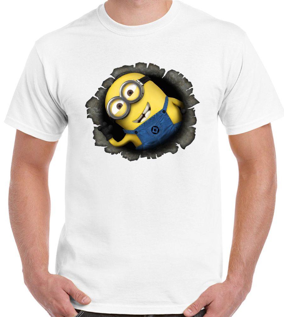 Grosshandel Minion Loch Mens Lustige Minions T Shirt Von