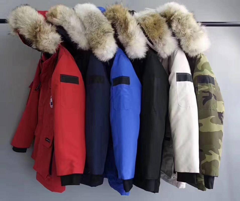 Großhandel Männer Daunenjacke Winter 40 Grad Mantel Expedition Parka  Daunenjacke Feder Echter Big Coyote Pelzkragen Für Die Antarktis Von  Honey111, ... bea60d3292