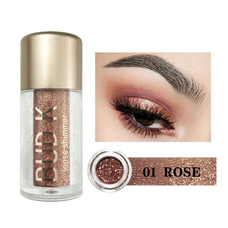 Beauty Essentials 2019 New Style 2019 Multicolor Glitter Eyeshadow Loose Powder Pigment Cosmetics Diamond Loose Lips Eyes Shining Makeup Women Beauty Makeup Eye Shadow