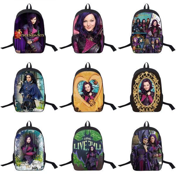 948173057ab 16 Inch Descendants Backpack For Teenagers Boys Girls School Bags Women Men  Travel Bag Children Backpacks Personalized Backpacks Hunting Backpacks From  ...