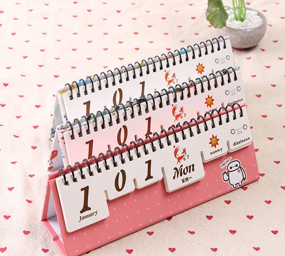 2018 creative desktop calendar gifts stationery magic forest mini
