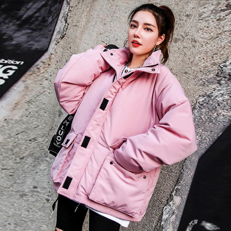 2019 Winter Jacket Women 2018 New Design Autumn Winter Bread Coat