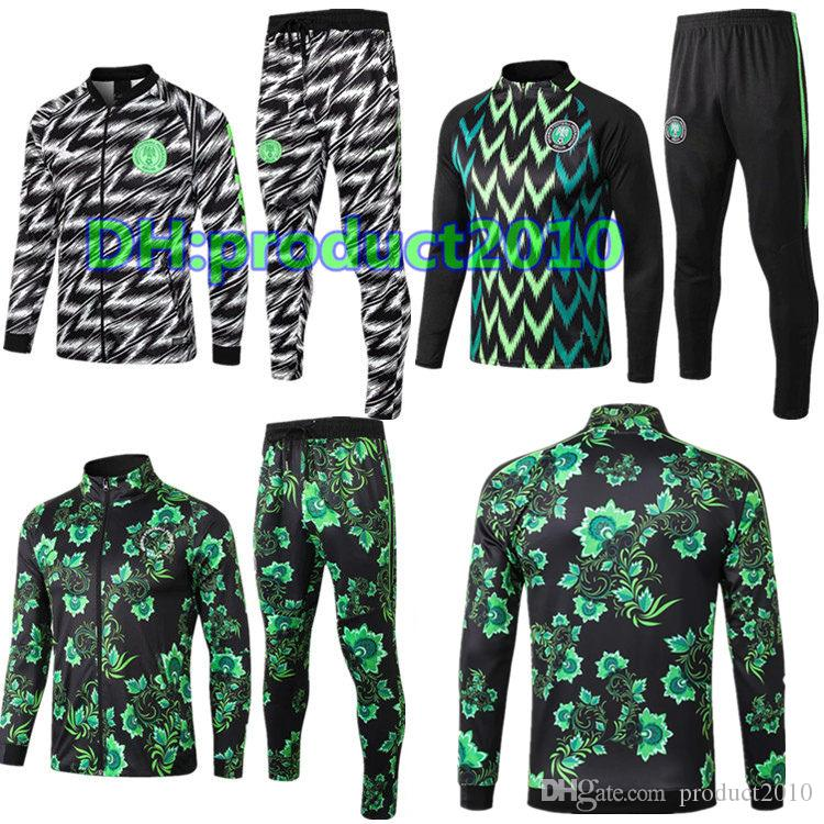 2019 2018 World Cup Nigeria SOCCER JERSEY Training Suit 19 IWOBI Mikel  Chandal Survetement FOOTBALL Long Sleeve Jacket Kits Tracksuit Sportswear  From ... 1ebf5e696