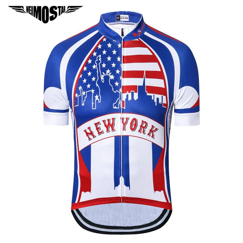 dae665618 Weimostar USA Team Pro Cycling Jersey Shirt Ropa Ciclismo 2018 Mtb Bicycle  Cycling Clothing Summer Bike Jersey Mountain Bike Clothing Cheap Bicycles  From ...