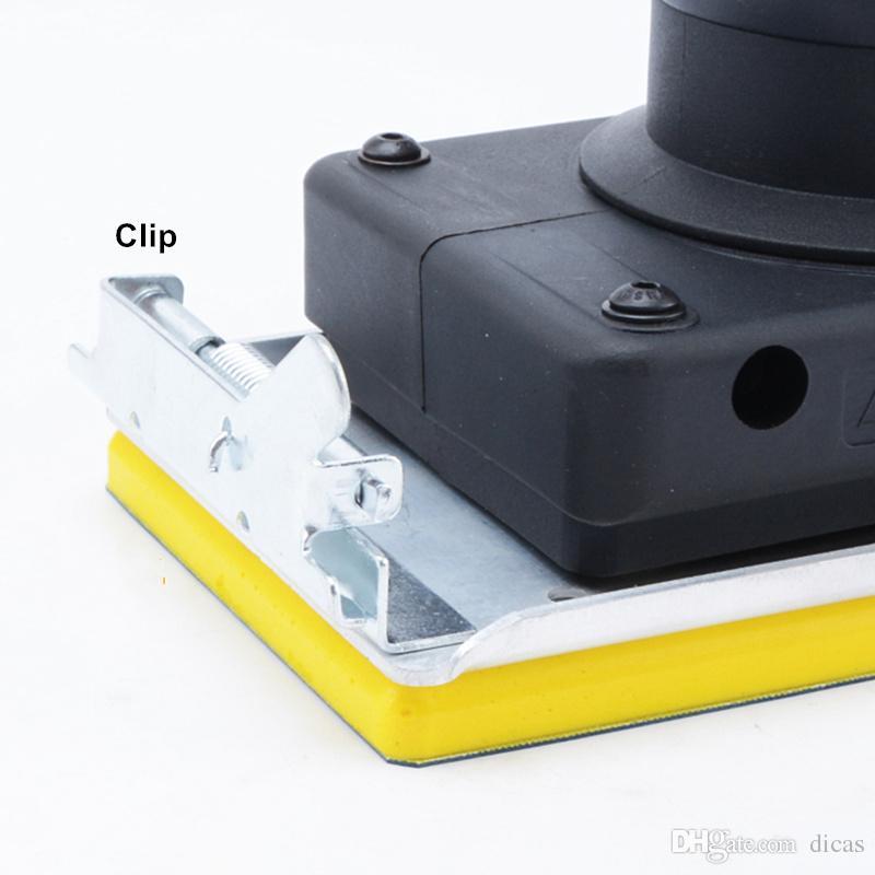 Frete grátis 90 * 180mm máquina de lixar pneumática retangular máquina de lixa de areia lixamento ferramenta polimento polidor de ar vento sander