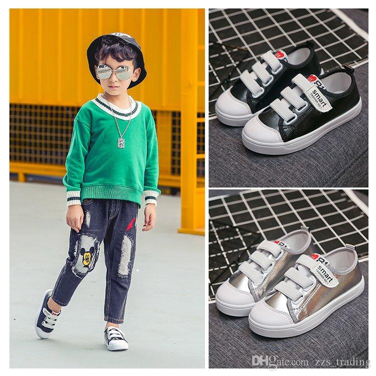 b2828522c New Fashion Baby Girl Sport Star Kid Glitter Sneaker Children Pu Leather  Breathable Trainer Best Selling Product Warm Non Slip Soft Boys Trail  Running Shoes ...