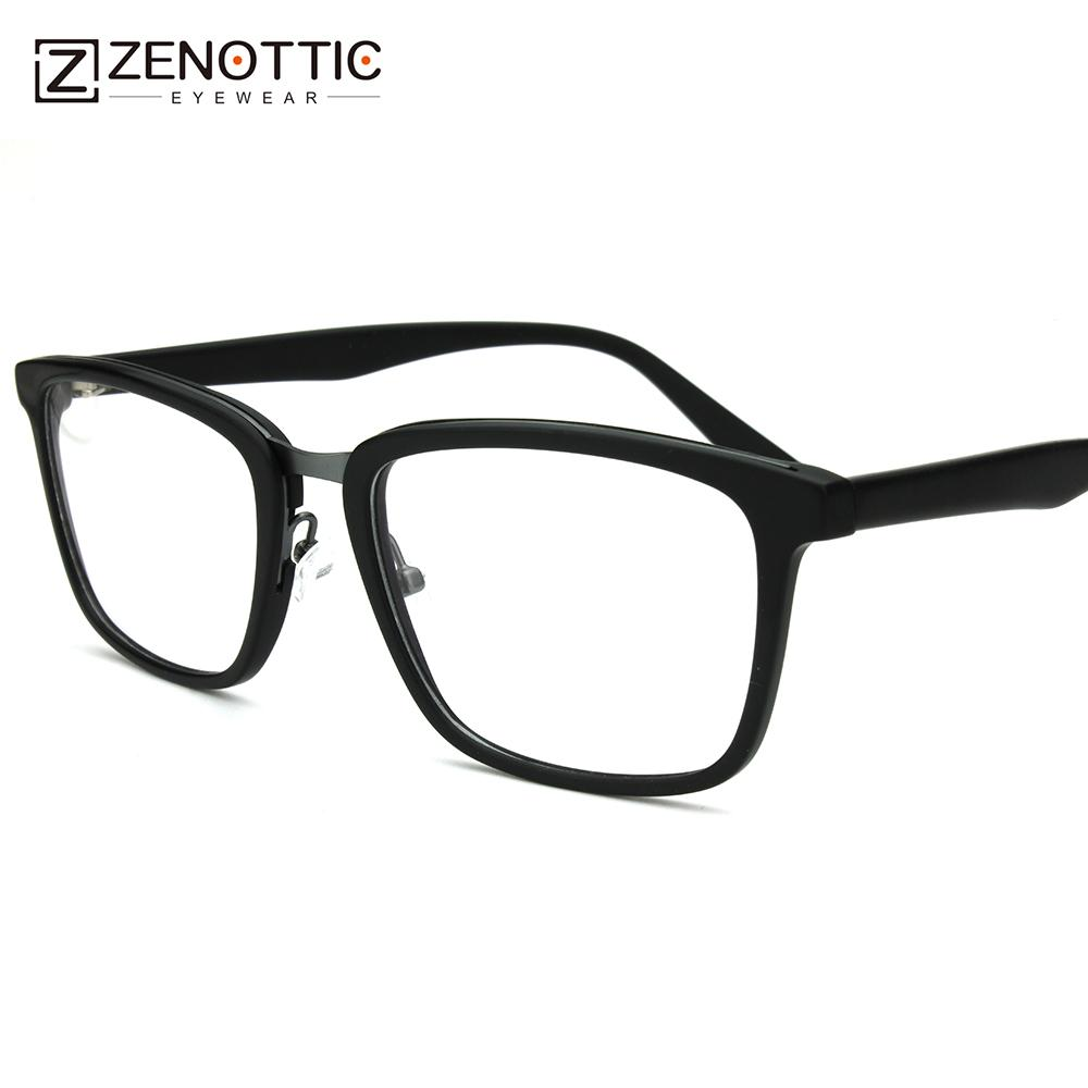 c874cdbba3c 2019 Mens Black RX Prescription Eye Glasses Frames For Women Vintage Metal  Bridge Optical Specs Frames Designer Square Eyewear BT2301 From Exyingtao
