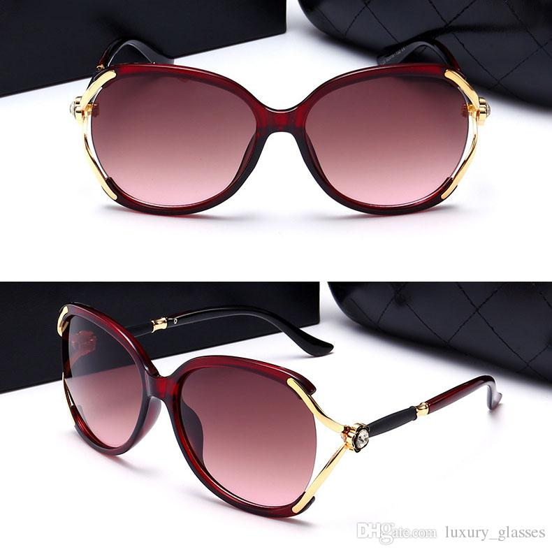70b22302f795 New Brand Designer Women Sunglasses UV Protection Driving Vintage ...