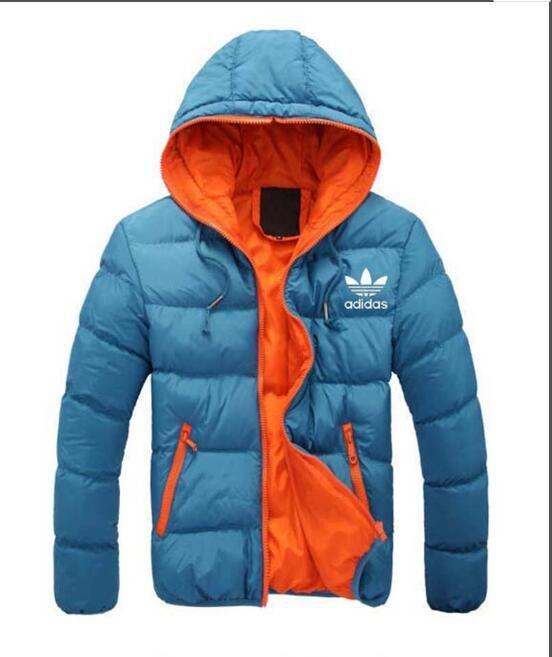 23ecace30d 2019 Fashion Winter Down Long Men's Warm Jacket Designer Male Hooded Coat  Brand Jackets for Men Parkas Plus High Quality AD-369