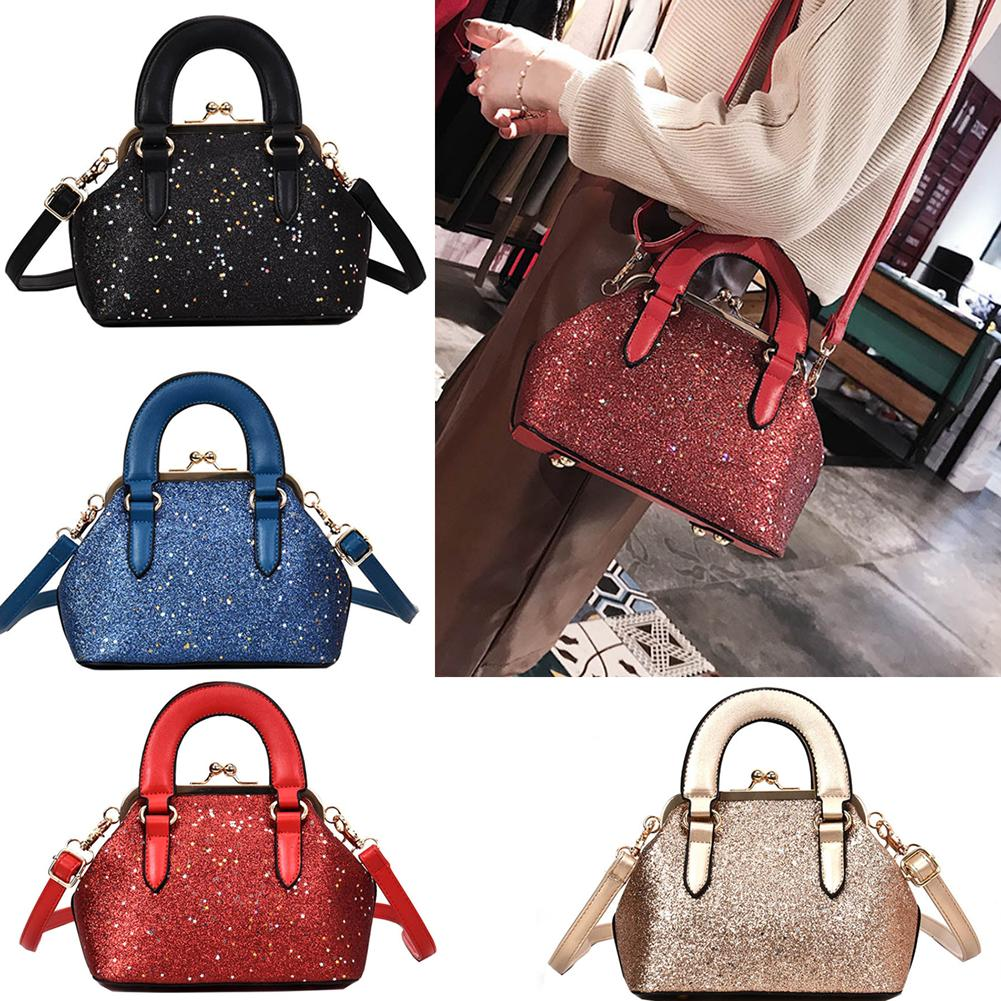 2fc126e759 2018 New Glitter Sequined Hobos Bag PU Leather Bling Handbag For Women  Brand Female Messenger Crossbody Bag Bolsas Femininas Designer Bags Wallets  For Women ...