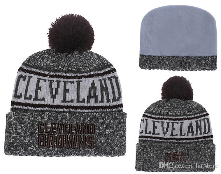 4289bfa5d3a5 New Winter Beanies Knitted Wool Warm Hats Fashion Pom Pom Caps ...