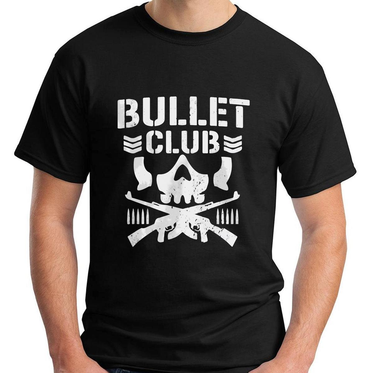 new bullet club logo short sleeve black men s logo men women t
