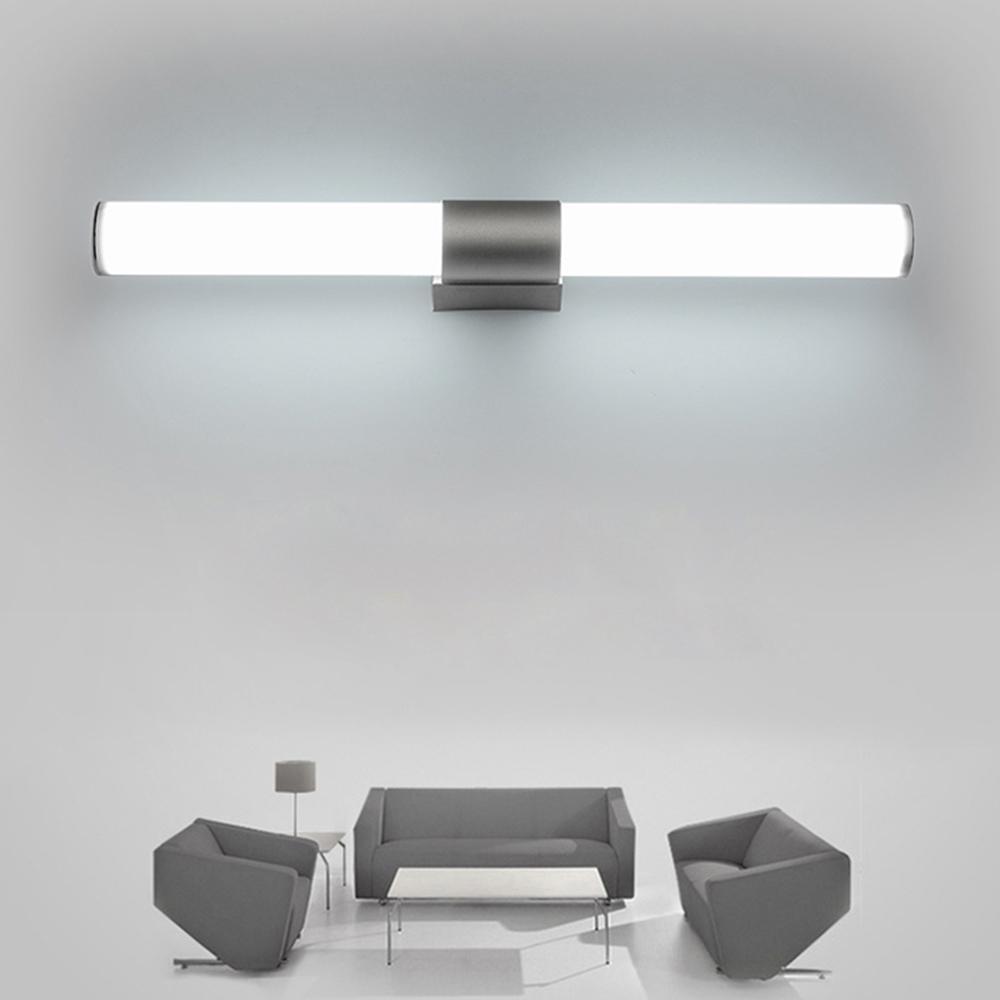 Appliques Salle De Bains Led miroir lumière Étanche 12 W 16 W 22 W AC85-265  V LED tube Moderne Mur lampe Salle De Bains Éclairage