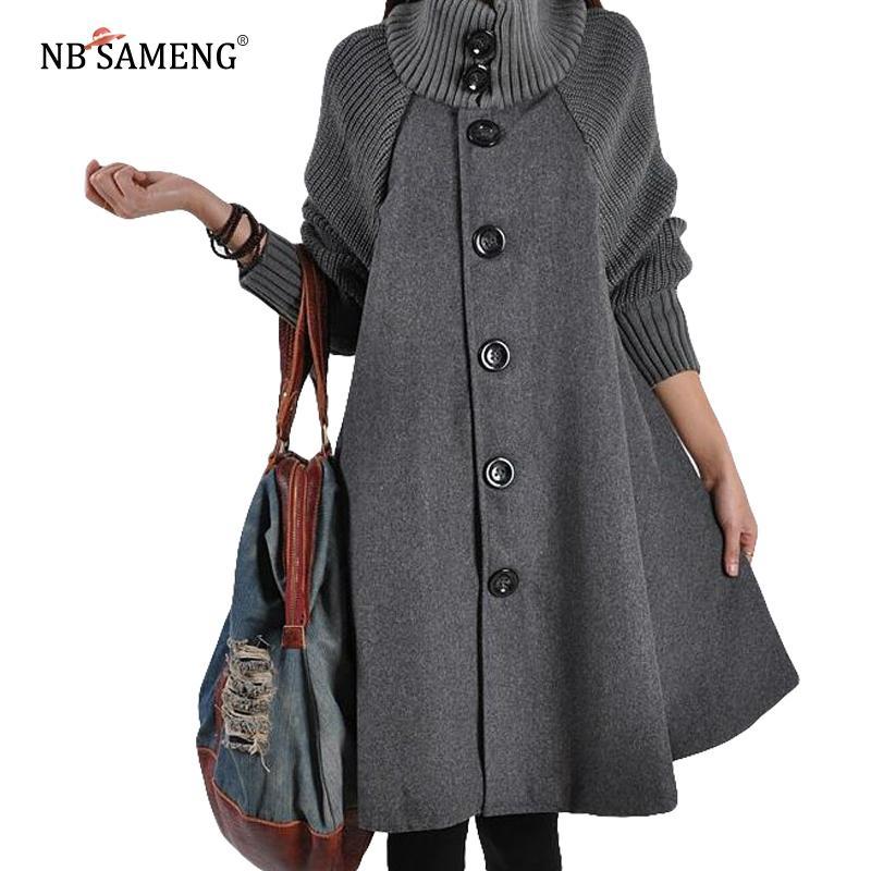 Acquista autunno donna nuovo cappotto 2018 cappotti invernali 1rqw1Z